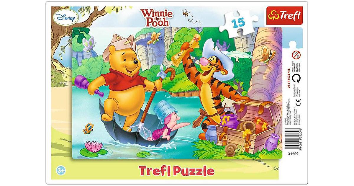 Rahmenpuzzle 15 Teile - Winnie the Pooh