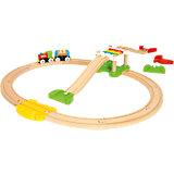"""Железная дорога BRIO """"Моя первая железная дорога, новичок"""", 18 элементов"""