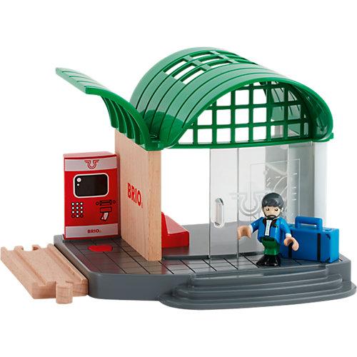 """Игровой набор Brio """"Железнодорожная станция с билетной кассой"""" от BRIO"""