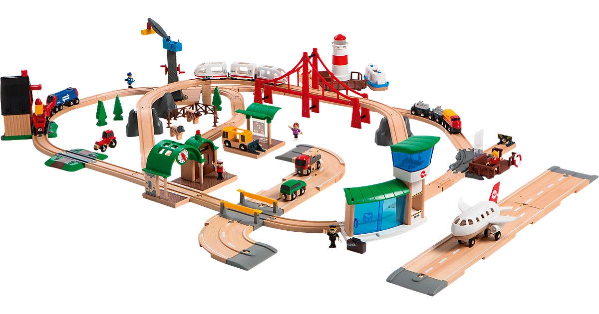 Trenino Brio 33766 - Set Deluxe il Mondo della Ferrovia al miglior prezzo