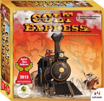 SPIEL DES JAHRES 2015 - Colt Express