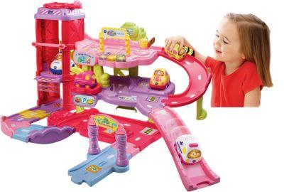 Tut Tut Baby Flitzer - Spielset Parkgarage pink