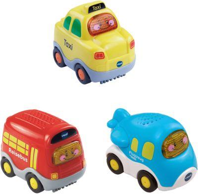 Tut Tut Baby Flitzer - 3er-Set Taxi, Flugzeug und Reisebus