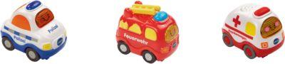 Tut Tut Baby Flitzer - 3er-Set Feuerwehr, Polizei, Krankenwagen