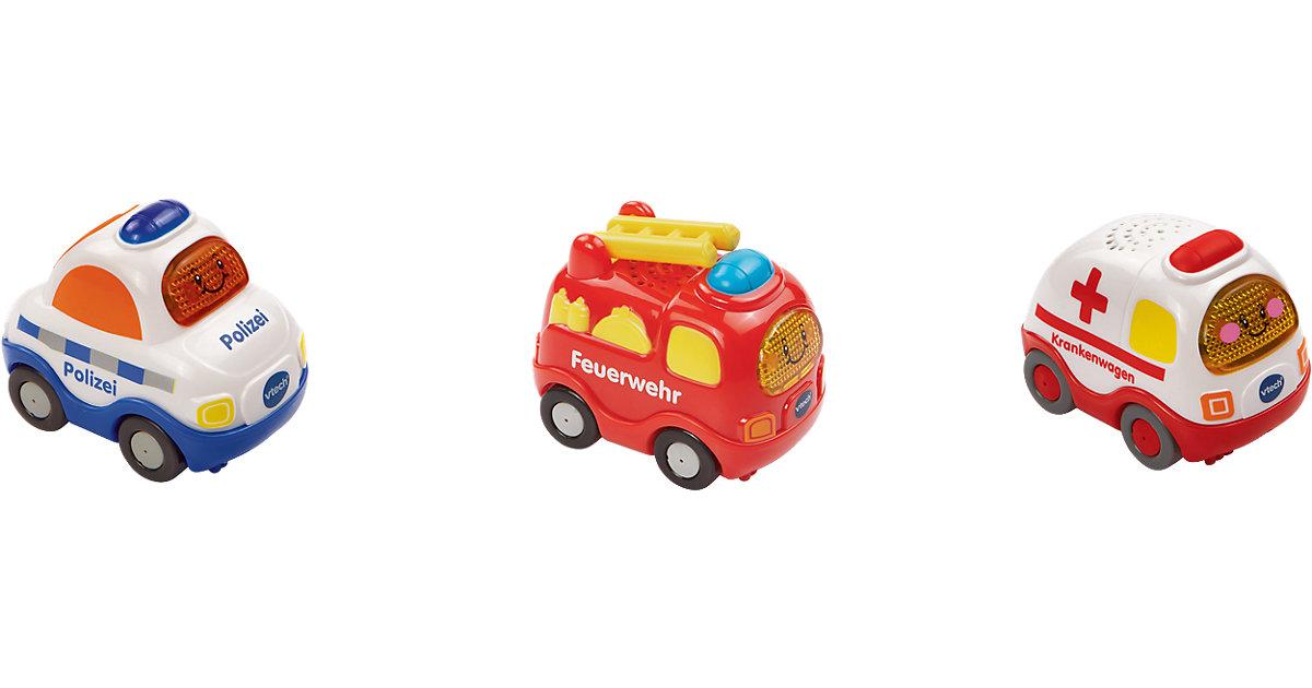 Tut Tut Baby Flitzer - 3er-Set Feuerwehr, Poliz...