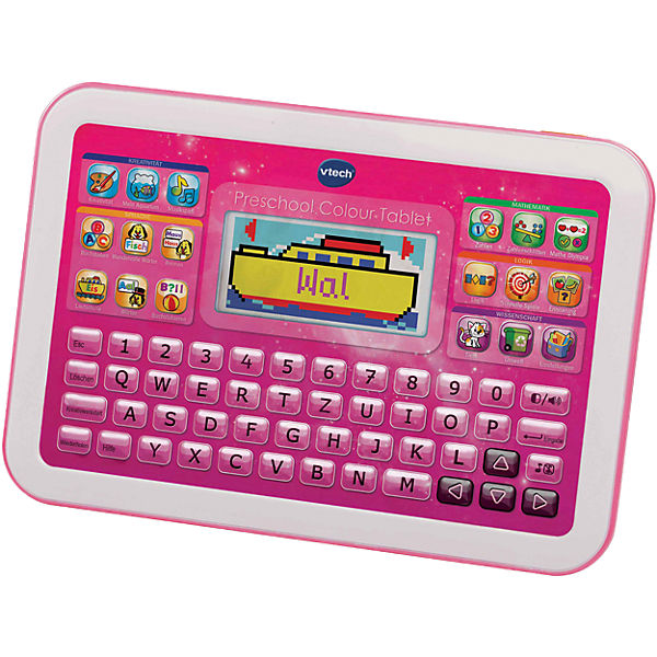 Preschool Colour Tablet, pink