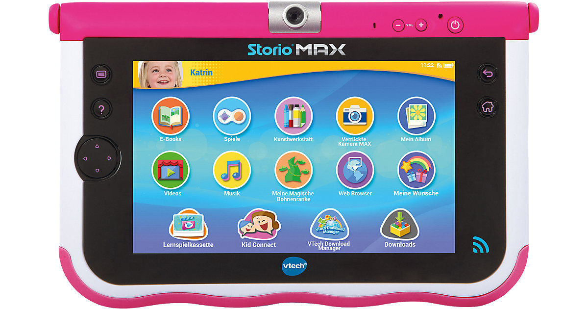 Storio MAX 7´´ pink