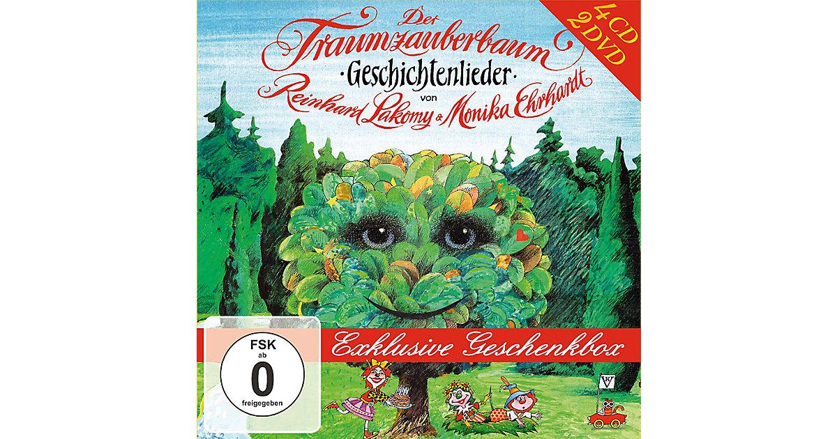 Der Traumzauberbaum - Die Geschenkbox: 4 Audio-CDs + 2 DVDs