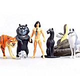 Набор фигурок Prosto Toys Маугли, 7 шт