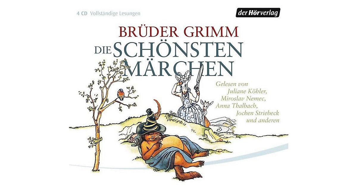 Die schönsten Märchen, 4 Audio-CDs, Teil 2