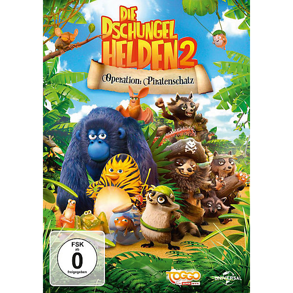 DVD Die Dschungelhelden 2 - Operation: Piratenschatz
