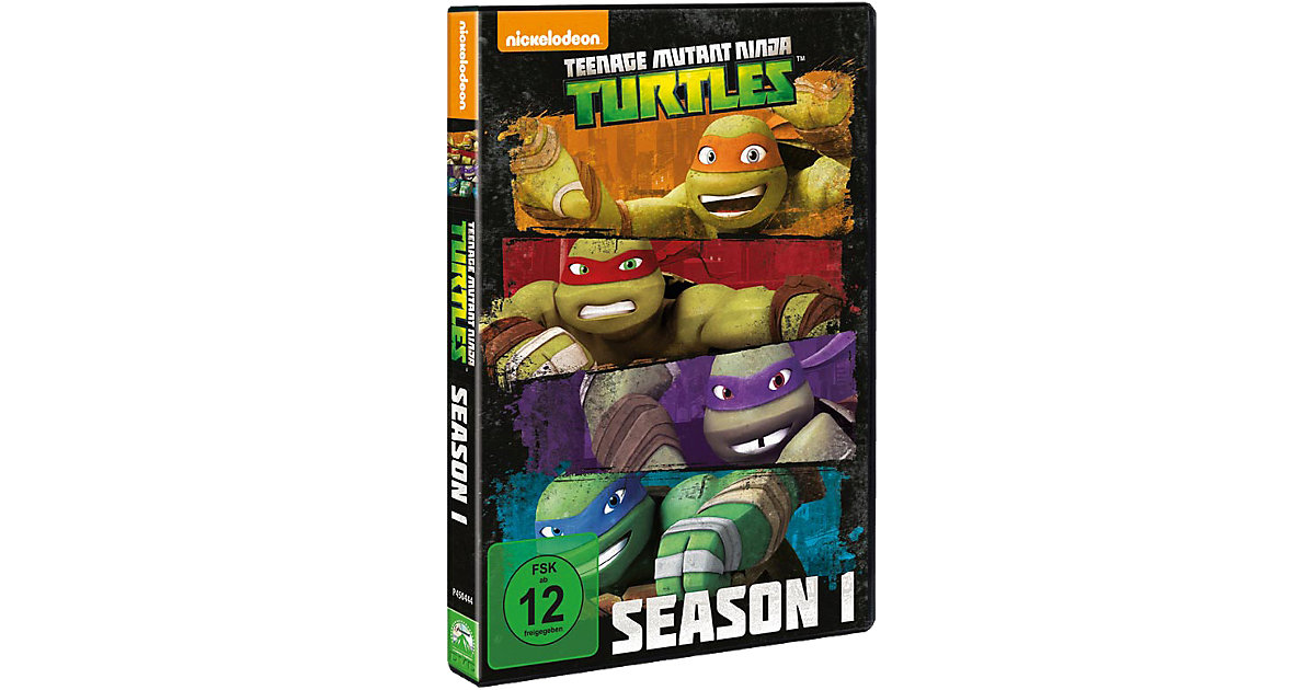 DVD The Teenage Mutant Ninja Turtles - Season 1