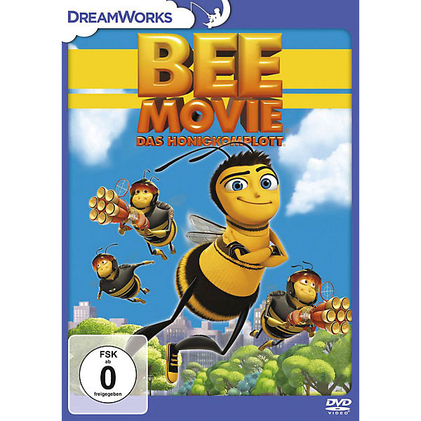 DVD Bee Movie - Das Honigkomplott