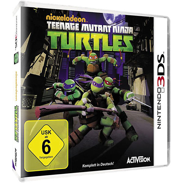 3DS Teenage Mutant Ninja Turtles