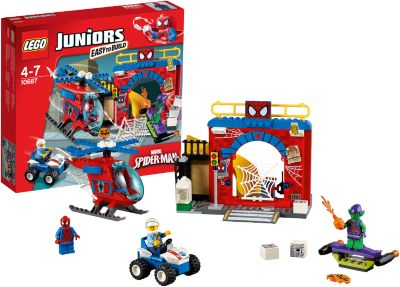 LEGO 10687 Juniors: Spider-Man™ Versteck