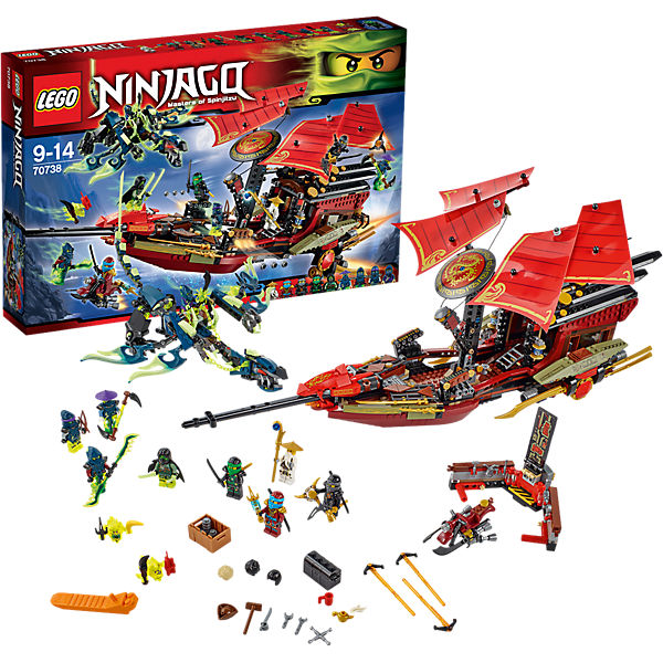 Lego 70738 ninjago der letzte flug des ninja flugseglers for Kinderzimmer ninjago