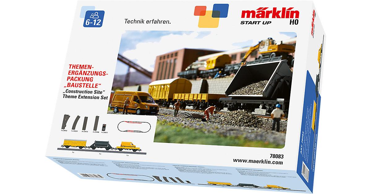 Märklin START UP - 78083 Themen-Ergänzungspackung Baustelle