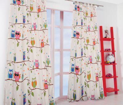vorhang kinderzimmer tiere, kindervorhänge, gardinen und panneauxs günstig online kaufen | mytoys, Innenarchitektur