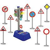 Светофор с набором дорожных знаков  Dickie Toys