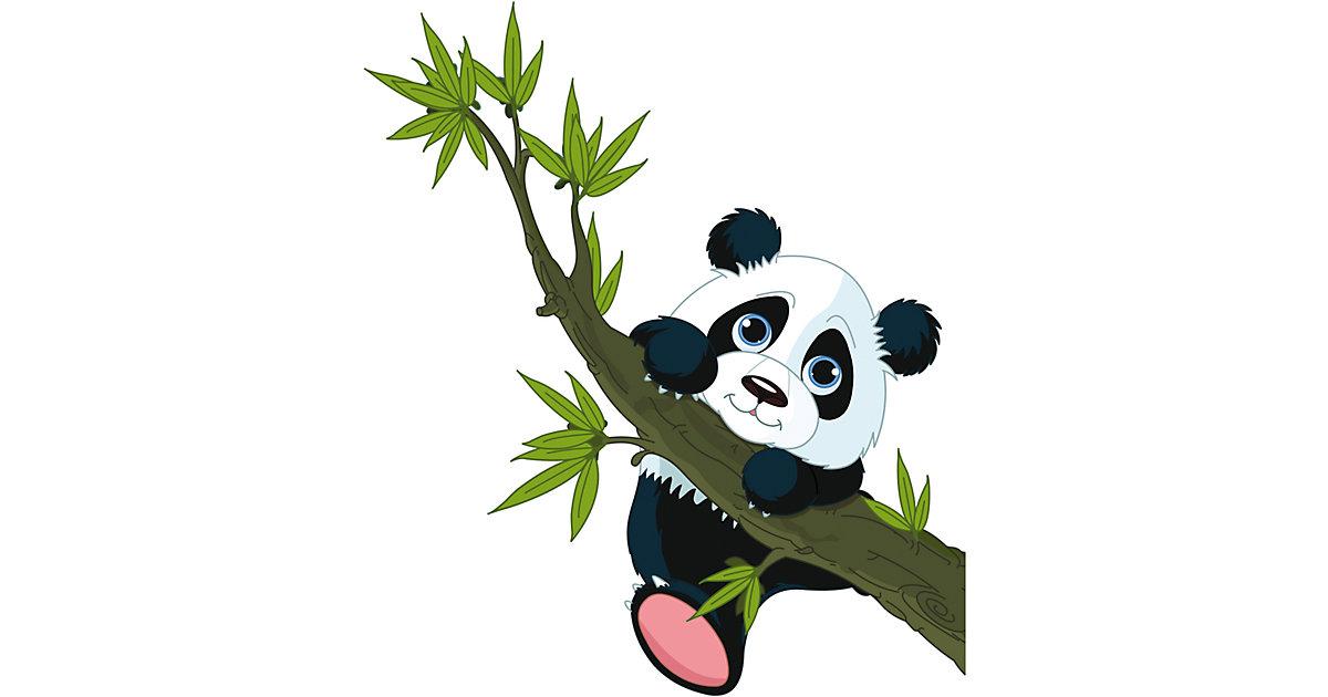 Wandsticker Pandabär, 67 x 47 cm mehrfarbig   Dekoration > Wandtattoos