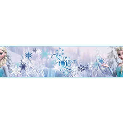 Bordüre, Die Eiskönigin, Elsa, 15,9 cm x 5 m, Disney Die Eiskönigin