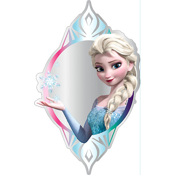 Spiegel die eisk nigin elsa 50 cm disney die for Chambre reine des neiges