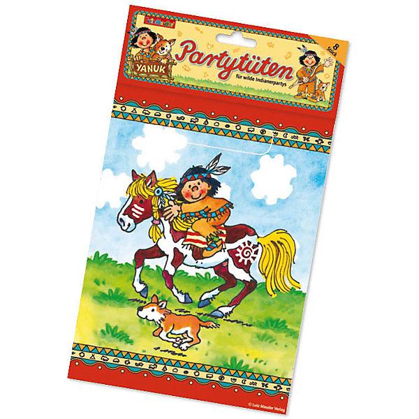 Partyset Indianer Yanuk 54 tlg Lutz Mauder Verlag