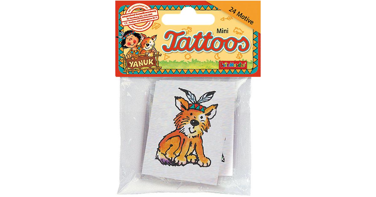 Mini-Tattoos Indianer Yanuk, 24 Stück