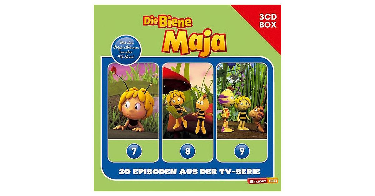 CD Die Biene Maja - 3er Hörspielbox (neue TV Se...