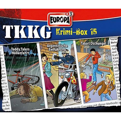 Sony CD TKKG - Krimibox 15
