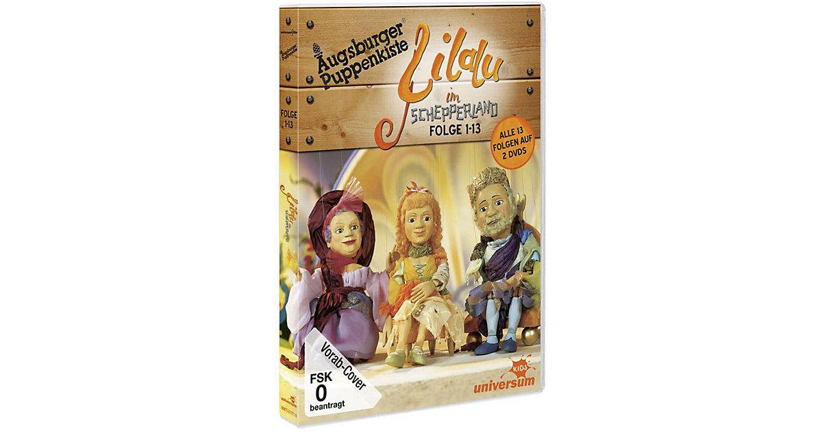 DVD Augsburger Puppenkiste - Lilalu im Schepperland (Folge 1-13)