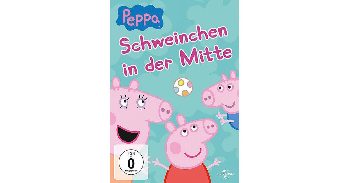 DVD Peppa Pig - Schweinchen in der Mitte Hörbuch