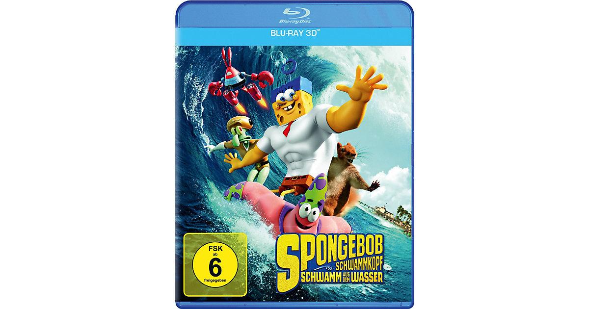 BLU-RAY Spongebob Schwammkopf - Schwamm aus dem Wasser 3D Hörbuch