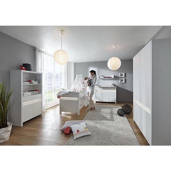 Komplett Kinderzimmer Planet White, 3-tlg. (Kinderbett ... | {Schardt kinderzimmer 64}
