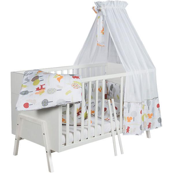 Kinderbett Holly White 70 x 140 cm weiß Schardt