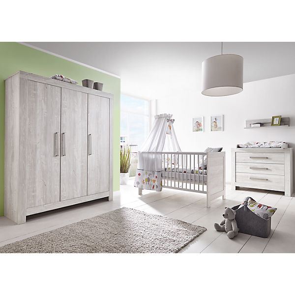 Komplett Kinderzimmer Nordic Cascina Gross 3 Tlg Kinderbett