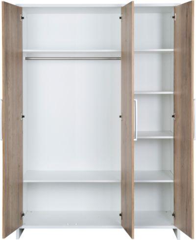 Kinderbett Eco Plus 70x140 cm weiß Halifax Eiche Schardt
