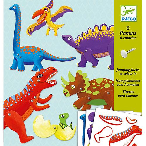 "Набор куколок ""Динозавры"" , DJECO"