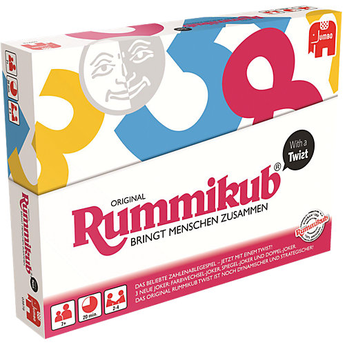 Jumbo Rummikub with a Twist Sale Angebote Drieschnitz-Kahsel