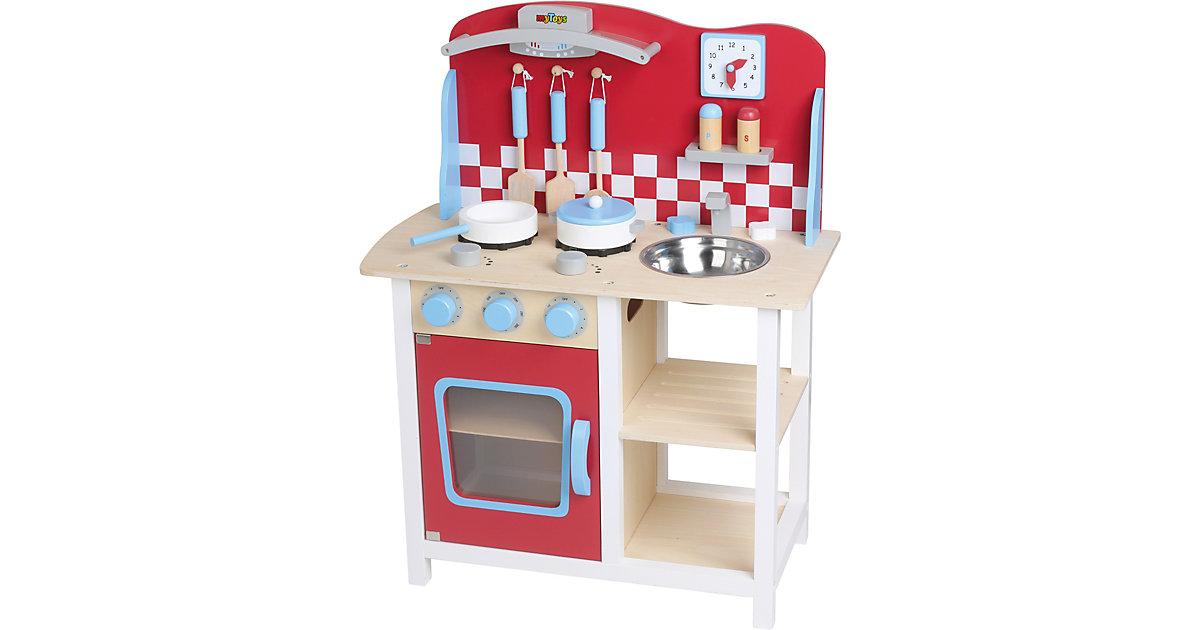 Holzspielküche mit Zubehör