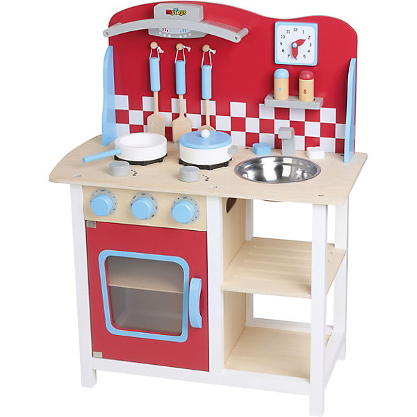 MyToys Holzspielküche mit Zubehör, myToys