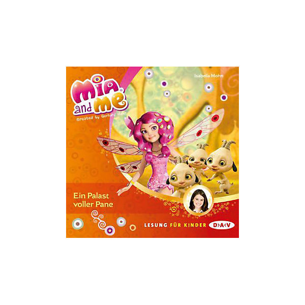 Mia and me: Ein Palast voller Pane, Audio-CD, Teil 12