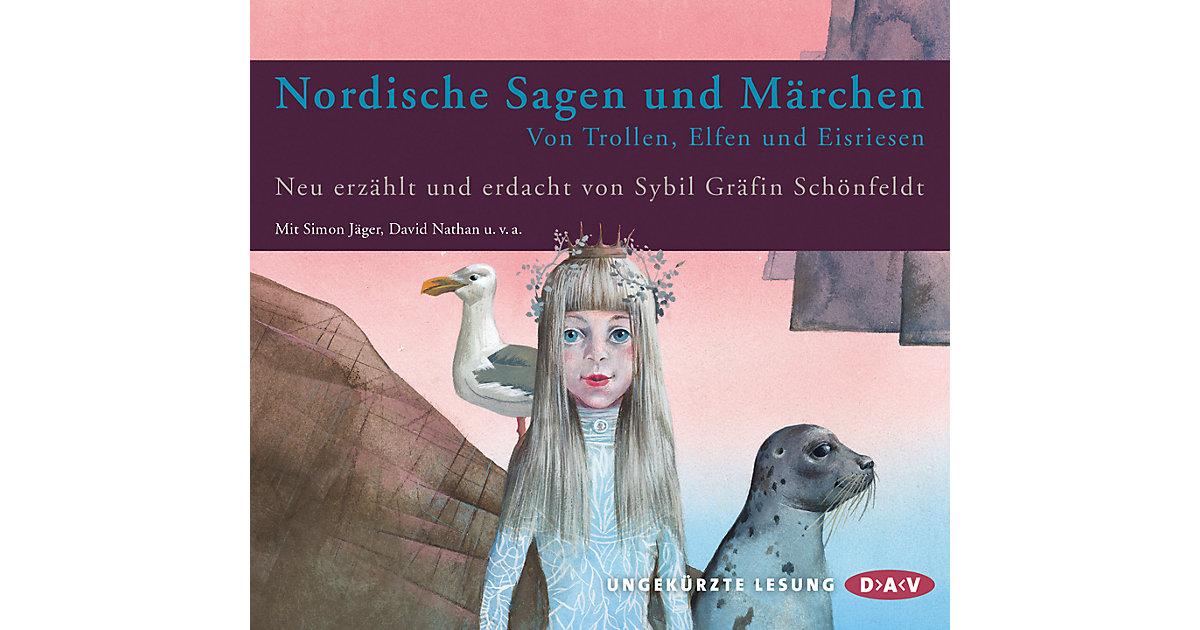 Nordische Sagen und Märchen: Von Trollen, Elfen und Eisriesen, 3 Audio-CDs