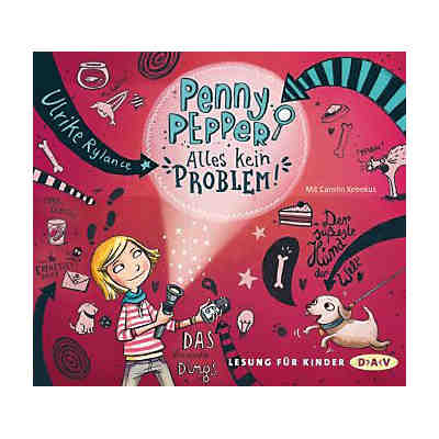 Penny Pepper: Alles kein Problem!, 1 Audio-CD