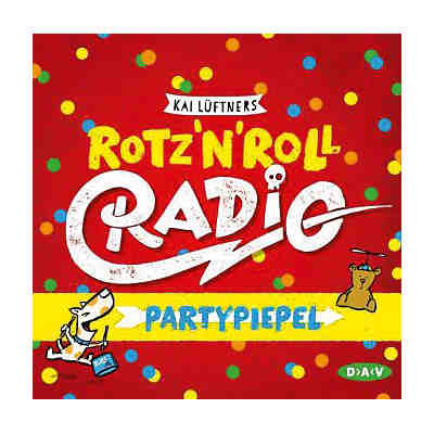 Rotz 'n' Roll Radio Partypiepel, 1 Audio-CD