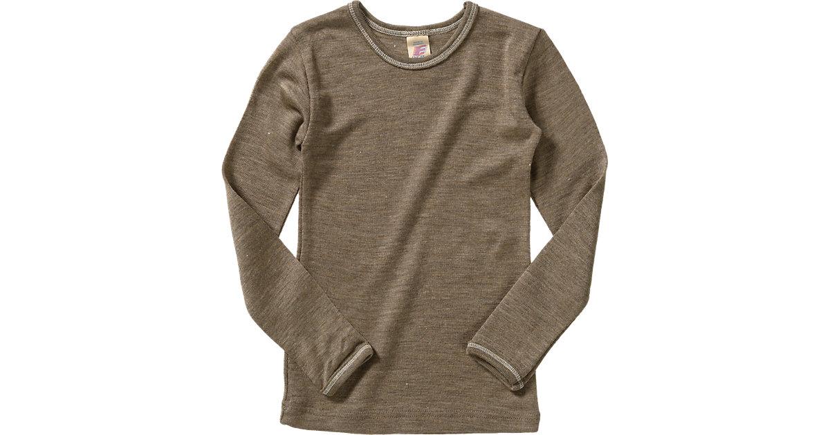 Langes Unterhemd Kinder, Wolle/Seide Gr. 92 Kle...
