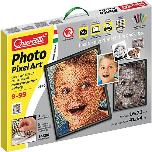 Пиксельная мозаика Quercetti Любимое фото, 14800 деталей от Quercetti