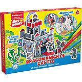 """3D Раскраска """"Замок рыцарей Дракона"""", Artberry"""