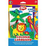 Цветной картон В5 (10 листов), Artberry