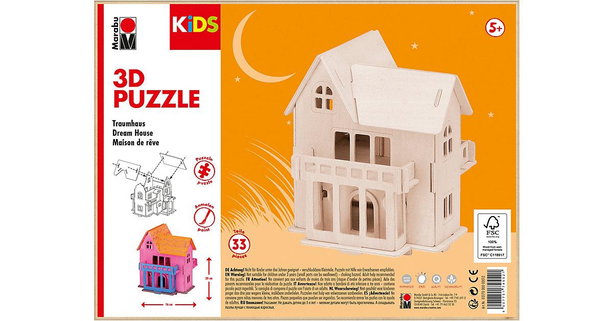 mara by Marabu 3D Puzzle Traumhaus